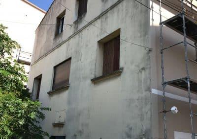 Avant les travaux de réhabilitation d'une Façade de copropriété à Martigues