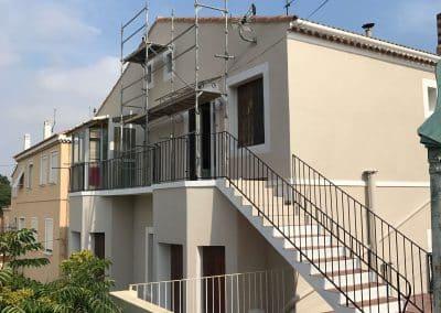 Réhabilitation d'une Façade de copropriété à Martigues