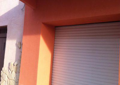 Après les travaux d'isolation Thermique par l'extérieur d'une maison de village à Port de Bouc