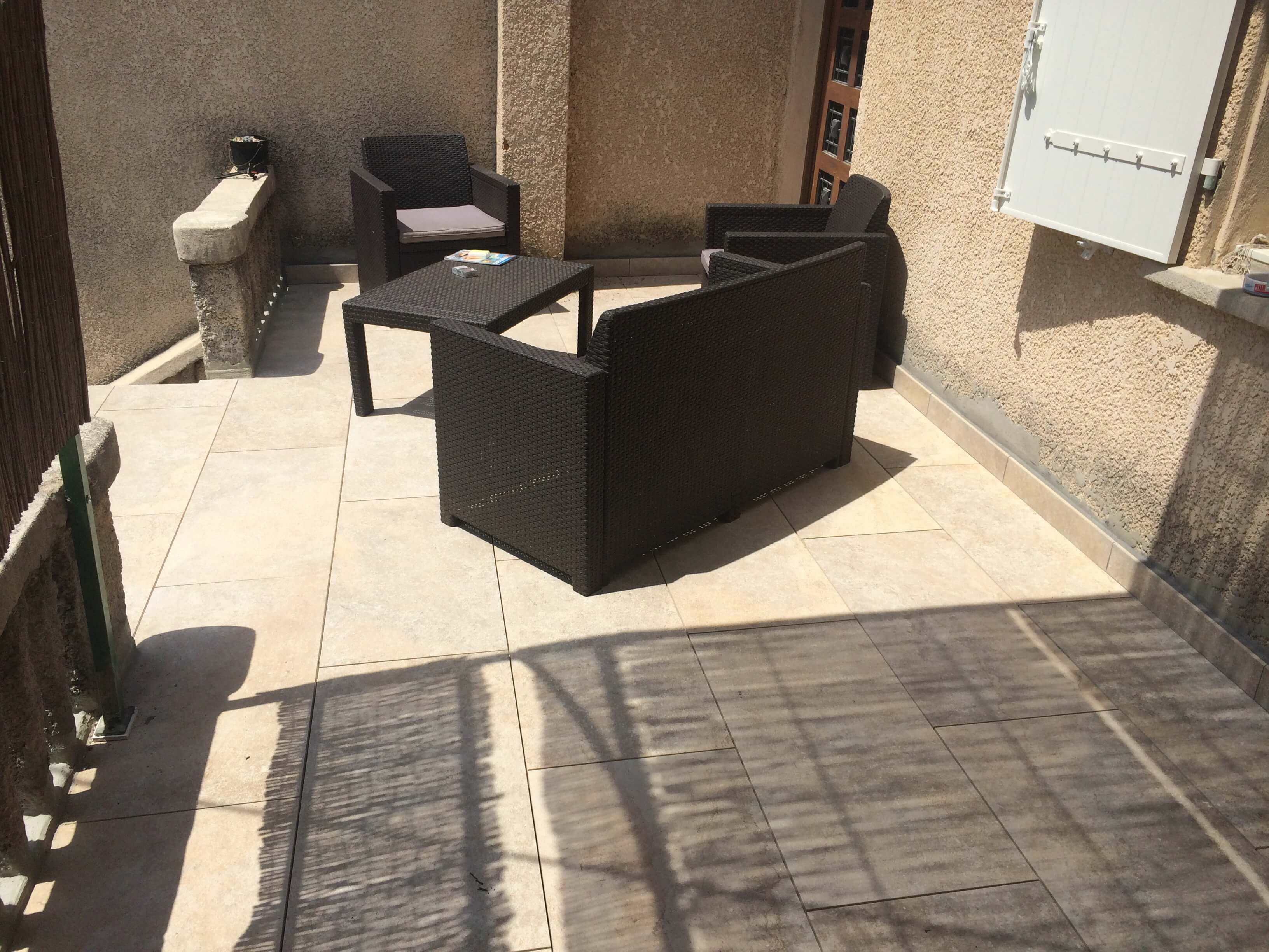 r fection et tanch it d 39 une terrasse marseille sud ravalement. Black Bedroom Furniture Sets. Home Design Ideas