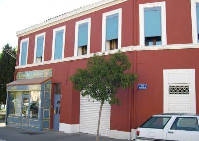 Imperméabilisation d'une façade système grésé à Port de Bouc